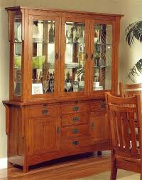 Server With Hutch Buffet Dining Room Hutches Solid Wood Oak