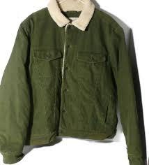l l bean men u0027s corduroy jacket large reg olive green what u0027s it