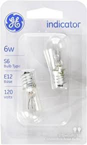 general electric wr02x12208 6w light bulb home