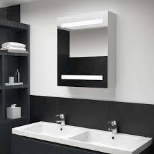 led bad spiegelschrank 50 x 14 x 60 cm