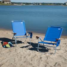 Rio Gear Backpack Chair Blue by Rio Blue Beach Bum Beach Chair Set Of 2 Hayneedle