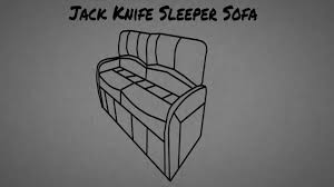 Rv Jackknife Sofa Replacement by Rv Jack Knife Sleeper Sofa Assembly Instructions Youtube