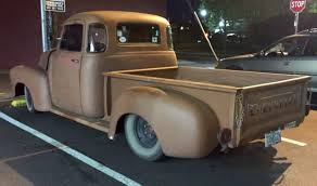 100 50s Chevy Truck Cool 40s 5window Pickup Autos