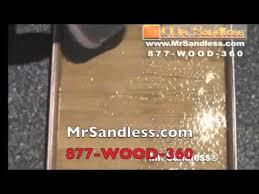 Sandless Floor Refinishing Edmonton by Mr Sandless Reviews Youtube