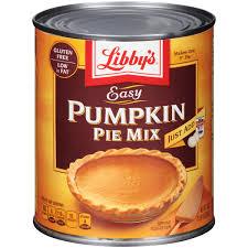 Libbys Spiced Pumpkin Bread Recipe by Libby U0027s Easy Pumpkin Pie Mix 30 Oz Can Walmart Com