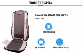 Massage Pads For Chairs Australia by China Car Seat Kneading Back Massage Cushion Manufacturers