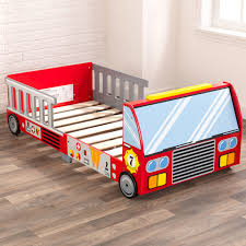 100 Car With Truck Bed KidKraft Firefighter Toddler Reviews Wayfair