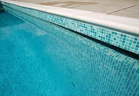 Best Pool Waterline Tile by Blue Glass Tiles Is The Best Solution For Creating Beautiful