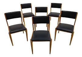 Set Of 6 Mid-Century Modern Danish Design Faux Leather Dining Chairs Modern Ding Chair Tribute Collection Contemporary Danish Teak Black Leather Chairs Set Of 4 Exclusive And Marvin Midcentury Faux 2 Rosewood And Whosale Room Ideas Different Mid Century Best Ding Chairs Room Fniture Italian Mid Century Danish Modern 6 Erik Buck Rosewood Leather Emfurn Fox1705bset2 Fniture By Safavieh
