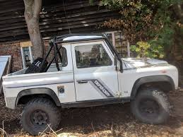 LAND ROVER DEFENDER 90 2.5tdi Pickup 119,000 Miles Good Condition ... 1987 Land Rover Defender 110 Firetruck Olivers Classics Used Car Costa Rica 2012 130 Wikipedia Working Fitted With A High Pssure Pump In 2015 Vs 2017 Discovery Nardo Grey Urban Truck Pinterest Rovers This Corvette Powered Pickup Is What Dreams 2013 Image 137 High Capacity 2007 Wallpapers 2048x1536 Shows Off Their Modified Lineup By Trucktuningcult Ultimate Edition