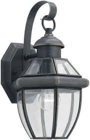 sea gull lighting 8037 12 single light lancaster small classic