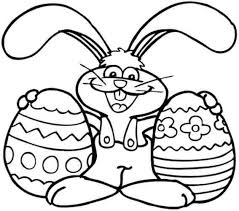 Easter Coloring Pages Bunny Bunnies Crafty