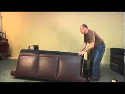 Decoro Leather Furniture Company by Sofa Cushion Replacement Youtube