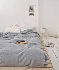 How To Make A Platform Bed From Wooden Pallets by Pallet Platform Bed Finelymade Furniture
