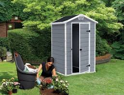 Rubbermaid Slide Lid Shed Instructions by Small Outdoor Storage Sheds U2013 Low Maintenance Quality Plastic Sheds