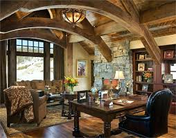 Rustic Office Furniture Chairs Beautiful Home Desks Introducing Natural Beauty Into The Room Stunning