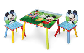 Delta Children Kids Table And Chair Set (2 Chairs Included), Disney Mickey  Mouse Toddler Table Chairs Set Peppa Pig Wooden Fniture W Builtin Storage 3piece Disney Minnie Mouse And What Fun Top Big Red Warehouse Build Learn Neighborhood Mega Bloks Sesame Street Cookie Monster Cot Quilt White Bedroom House Delta Ottoman Organizer 250 In X 170 310 Bird Lifesize Officially Licensed Removable Wall Decal Outdoor Joss Main Cool Baby Character 20 Inspirational Design For Elmo Chair With Extremely Rare Activity 2