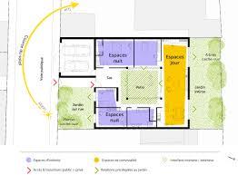 les 3 chambres plan dune villa de plain pied 3 chambres maison moderne