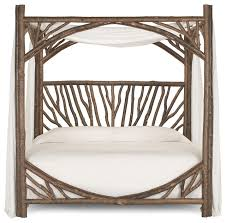 Image Of Rustic Bed Frames Canopy Ideas