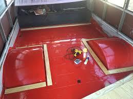 Skoolie Conversion Floor Plan by Subfloor Natural State Nomads