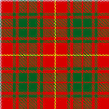 Bruce Clan Badge Tartan