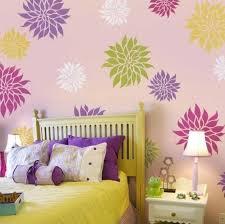 Flower Stencil Dahlia Grande MED Reusable Wall Stencils Better Than Decals