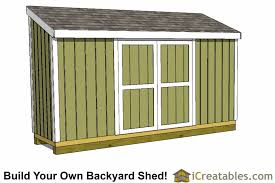 4x12 lean to shed outdoor shed plans small shed plans