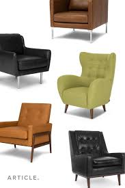 Sophisticated. Playful. Sleek. Finish Off Your Space With A ... Eadu Armchair Lch Ergonomic Baby Tufted Recliner Chair Soft For Living Room Bedroom Wingback Comfortable Recling Lounge Chairs Sofa Kids Child Home Two Comfortable Lounge Chairs Midcentury Style Modern Accent Cushion Backrest Beautiful And From 1950 Wall Hugger Fniture Seating Pad High Grey Steel Oaksynergy Orolay Doublearch Cooper In Casual By Fairmont Designs At Dream Mid Century Large Verywood Frame