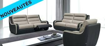 canapé cuir relax canape cuir relax 2 places canapac cuir europe canvas 2 places