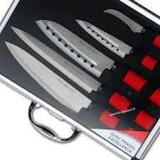 coffret couteaux cuisine pradel malette couteaux japonais 5 pièces