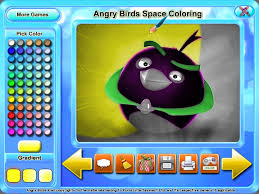 Free Download Angry Birds Space Coloring Screenshot 3