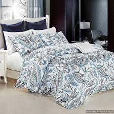 teal paisley bed covers