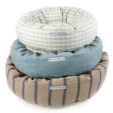 Pottery Barn Dog Bed by Striped Dog Bed Majestic Pet Vertical Stripe Pillow Dog Bed