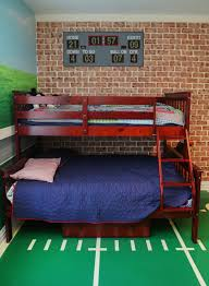 Soccer Themed Bedroom Photography by 47 Really Fun Sports Themed Bedroom Ideas Home Remodeling
