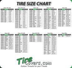 Chart: Tire Dimensions Chart