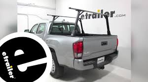 Install Rola T3 Truck Bed Ladder Rack 2018 Toyota Tacoma 59799 ... Discount Ramps Pickup Truck Bed Ladder Pipe Lumber Material 2015 Ford F 150 Supercab With Trrac Sr Sliding Racks Cap World Ryderracks Alinum Rack Alumarackcom Universal Contractor For Kayak Canoe Adjustable Sliding Ladder Rack That Provides Stable Transportation Ediors 800 Lb For Pick Up 1475 Weather Guard Us Best Rated In Helpful Customer Reviews Amazoncom Erickson 250 Lbs Steel Rack07708 The Home Depot Chevy Silverado Crew Cab Short Bluewater