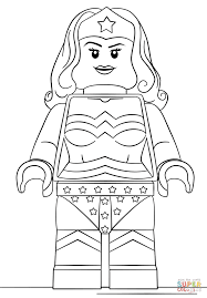 Full Size Of Coloring Pagewoman Page Lego Wonder Large Thumbnail