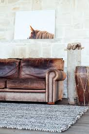 Restoration Hardware Lancaster Sofa Leather by Best 25 Distressed Leather Sofa Ideas On Pinterest Distressed
