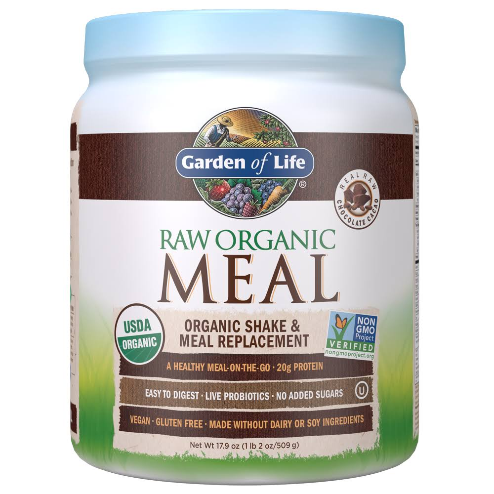 Garden of Life Raw Meal Organic Shake and Meal Replacement