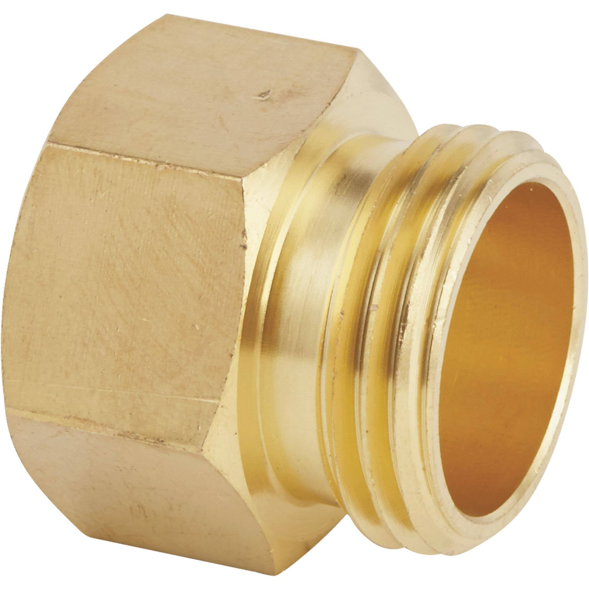 Do It Best DIB50578 Brass Hose Connector