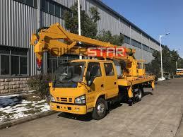 100 Construction Trucks For Sale Philippines 16M Hydraulic Lifting Platform Isuzu Man Lift Truck