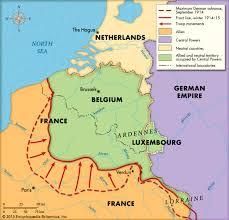 Where Did The Lusitania Sink Map by Alexander Von Kluck German General Britannica Com