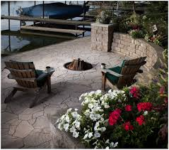 Concrete Patio Cost Uk | Home Outdoor Decoration Stone Texture Stamped Concrete Patio Poured Stamped Concrete Patio Coming Off Of A Simple Deck Just Needs Fresh Finest Cost Of A Stained 4952 Best In Style Driveway Driveways And Patios Amazing Walmart Fniture With To Pour Backyards Cement Backyard Ideas Pictures Pergola Awesome Old Home Design And Beauteous Dawndalto Decor Different Outstanding Polished Designs For Wm Pics On Mesmerizing