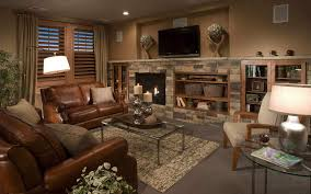 Brown Couch Living Room Decor Ideas by Wonderful Living Room Stylish Home Interiors Design Comfortable