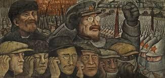 David Alfaro Siqueiros Murales Bellas Artes by Los Murales Del Mpba Revolución Rusa