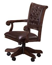 100 Wood Gaming Chair Hillsdale Chiswick Game Brown Cherry 6240801