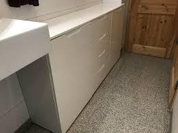 sideboard hochglanz weiß bad wohnzimmer büro usw neuwertig