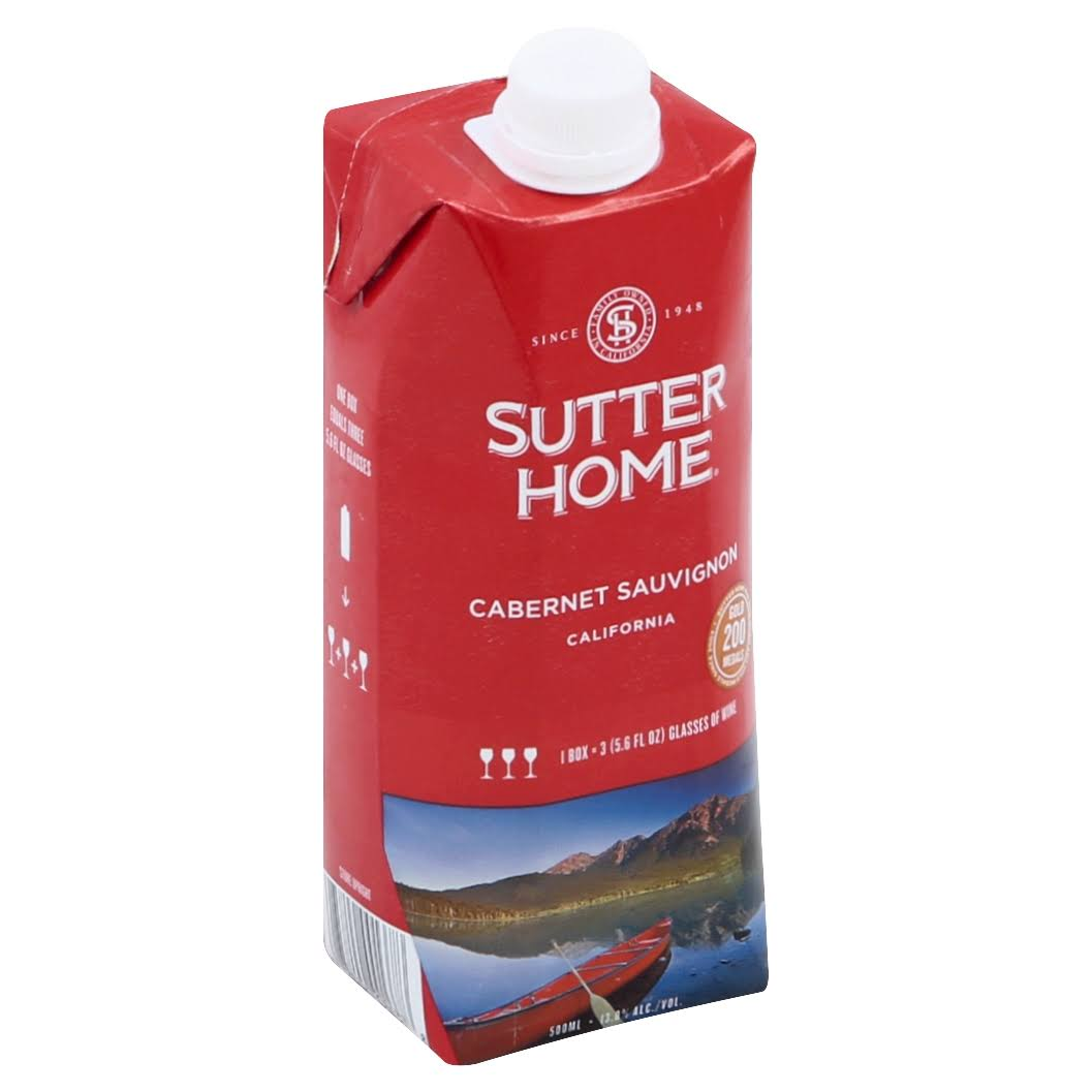 Sutter Home California Cabernet Sauvignon Wine
