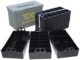 Amazon.com : MTM Ammo Can Organizer (Black) : Gun Ammunition And ...