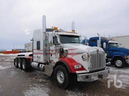 2013 KENWORTH T800 Sleeper Truck Tractor (Tri/A) Lot #90A | Ritchie ...